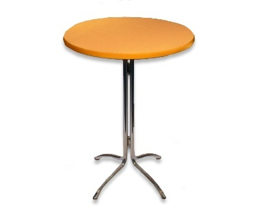 Tophoes stretch rond 80cm oranje huren