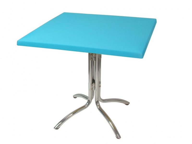 Tophoes stretch 80x80cm turquoise huren