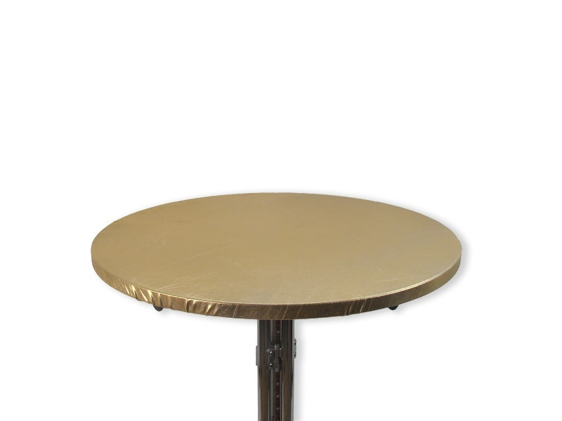 Tophoes stretch rond 80cm goud huren