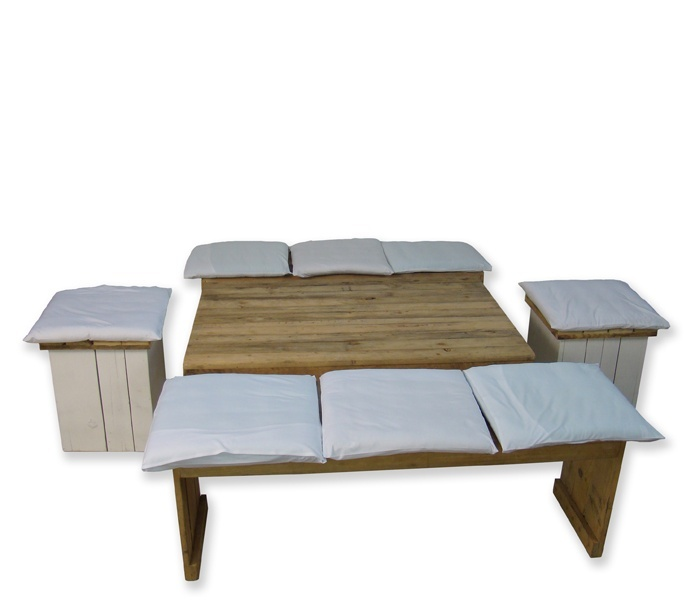 Set steigerhout mixed Basic huren